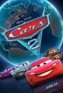 Cars 2,赛车总动员2,汽车总动员2,反斗车王2,小汽车的故事2(蓝光原版)