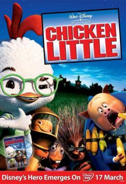 Chicken Little 3D,四眼天鸡,鸡仔总动员[3D版](蓝光原版)